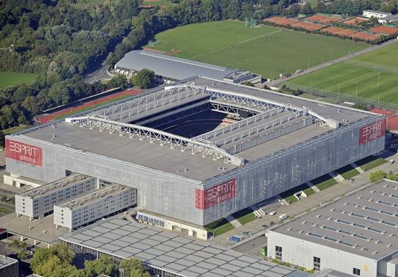 Rheinarena, Fortuna Düsseldorf